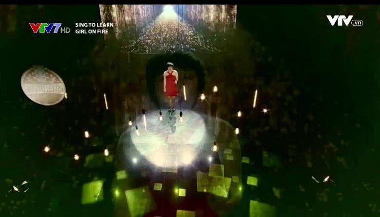 Sing to learn Học tiếng Anh qua bài hát:  Girl on fire