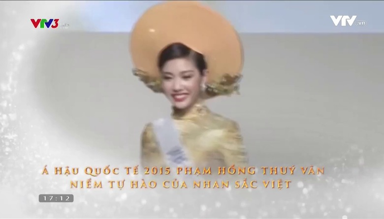 Đẹp Việt: Á hậu Thúy Vân
