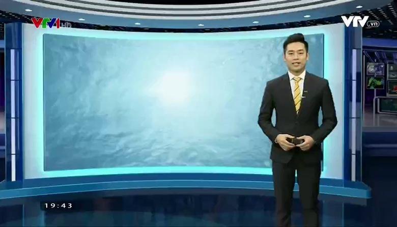Bản tin thời tiết 19h45 - 22/3/2017