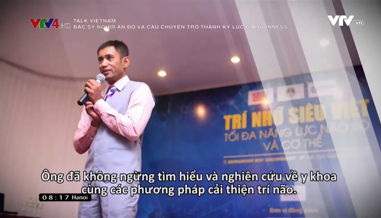 Talk Vietnam: Bác sỹ người Ấn Độ và câu chuyện trở thành kỷ lục gia Guinness