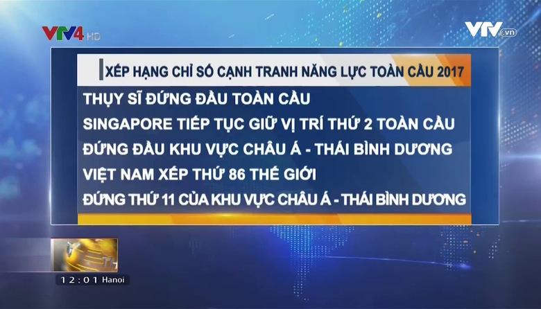Bản tin tiếng Việt 12h - 20/4/2017