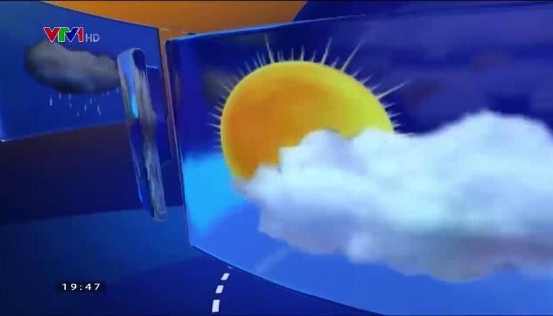 Bản tin thời tiết 19h45 - 23/4/2017