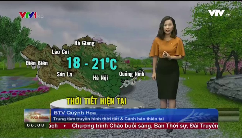 Bản tin thời tiết 6h10 - 28/4/2017