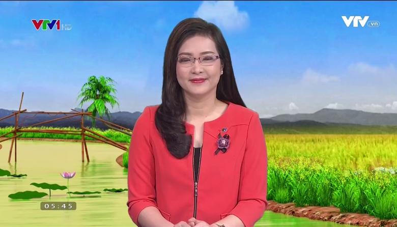 Bản tin thời tiết nông vụ - 01/5/2017