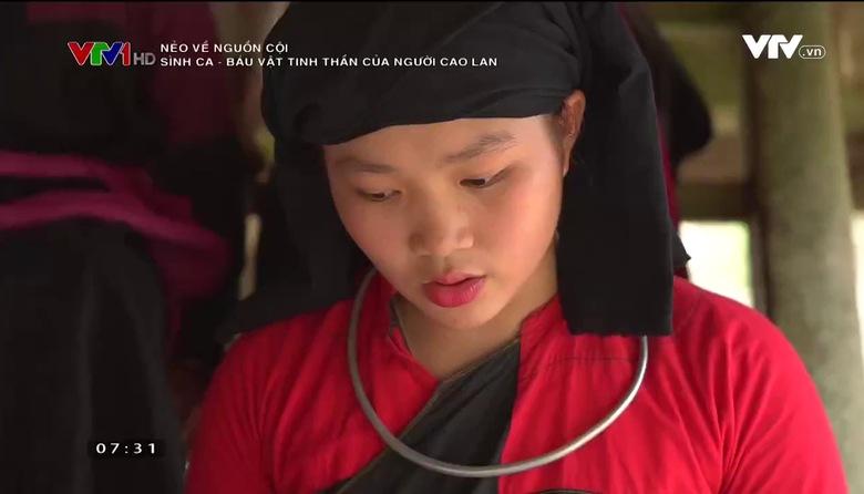 Nẻo về nguồn cội: Sình Ca - Báu vật tinh thần của người Cao Lan
