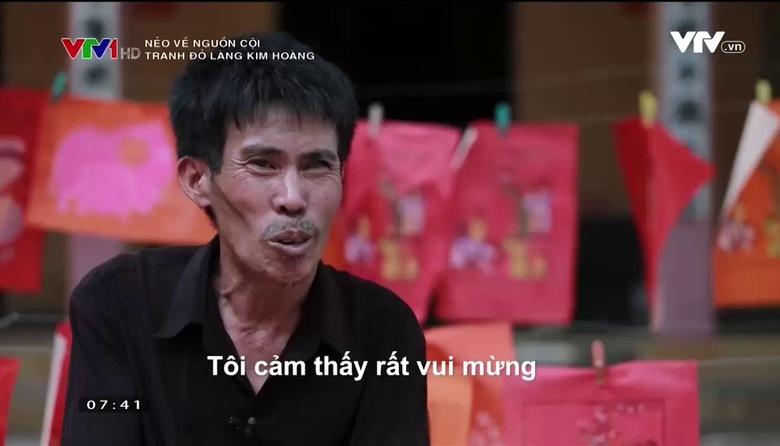 Nẻo về nguồn cội: Tranh đỏ Làng Kim Hoàng