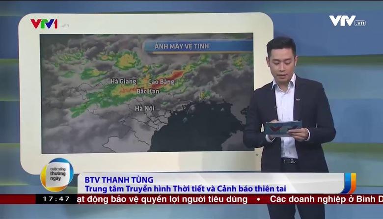 Bản tin thời tiết 18h - 25/6/2017