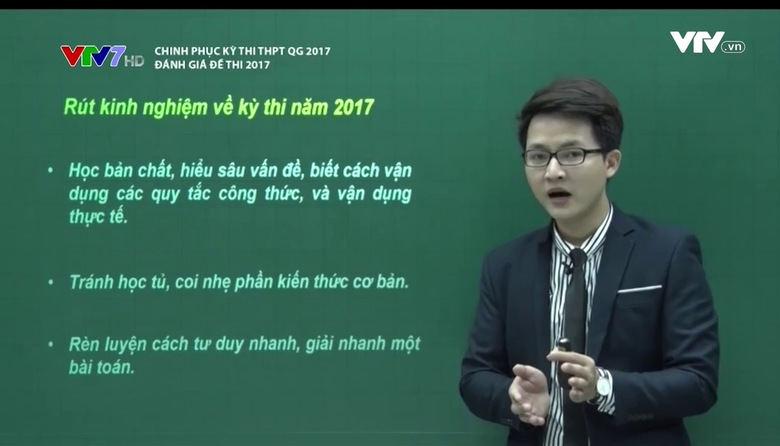 Chinh phục kỳ thi THPT QG: Đánh giá đề thi 2017 - Số 2