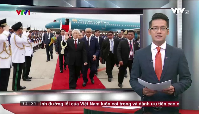 Thời sự 12h VTV1 - 20/7/2017