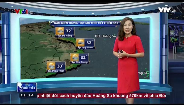Bản tin thời tiết 12h30 - 28/7/2017