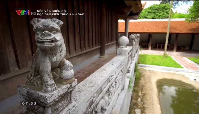 Nẻo về nguồn cội: Độc đáo kiến trúc Kinh Bắc