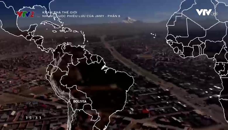Khám phá thế giới: Những cuộc phiêu lưu của Jamy - Tập  8