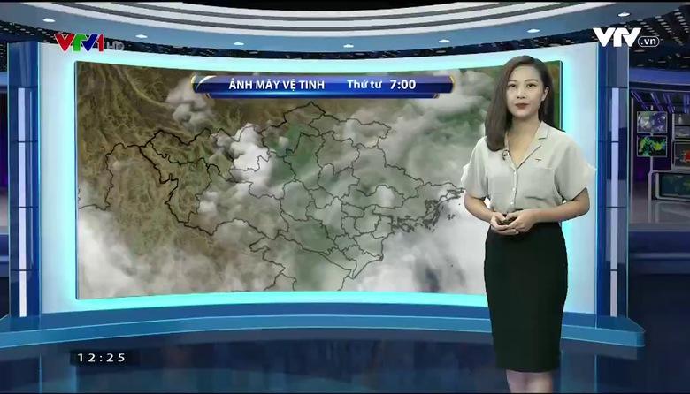 Bản tin thời tiết 12h30 - 16/8/2017
