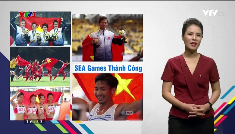Khoảnh khắc SEA Games - 31/8/2017