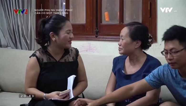 Người phụ nữ hạnh phúc: Cần có một tấm lòng