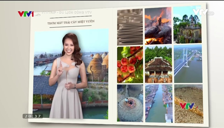 VTVTrip - Du lịch cùng VTV: Du lịch tới Vĩnh Long - Thơm mát trái cây miệt vườn