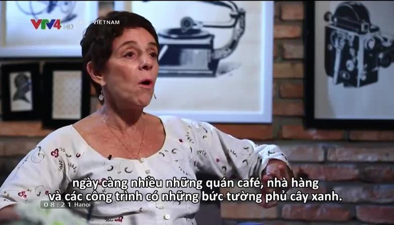 Talk Vietnam: Leslie Wiener và tấm lòng với giới trẻ Việt Nam