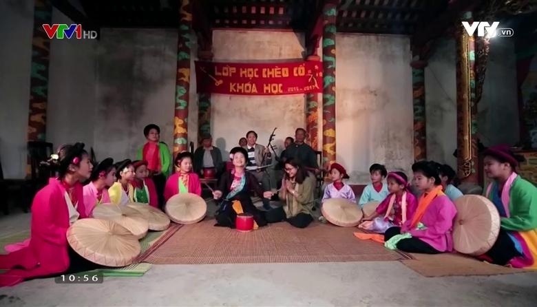 Nét đẹp dân gian: Hát chèo làng Khuốc