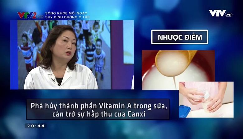 Sống khỏe mỗi ngày: Suy dinh dưỡng ở trẻ em Việt Nam