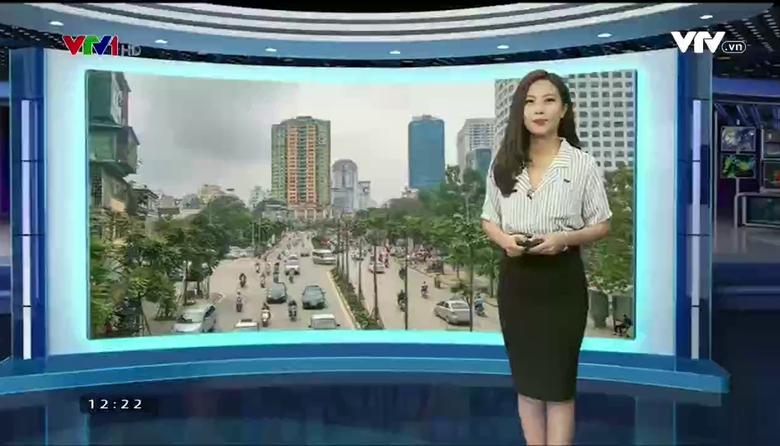Bản tin thời tiết 12h30 - 24/3/2017