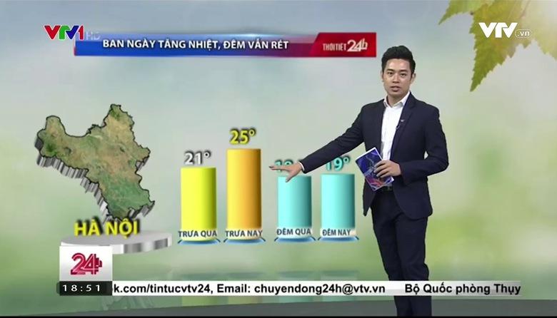Bản tin thời tiết 18h45 - 28/3/2017