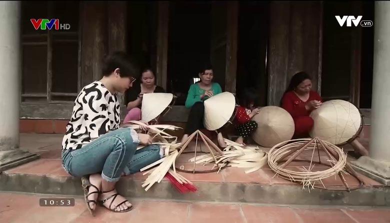 Nét đẹp dân gian: Làng nghề làm nón Sai Nga