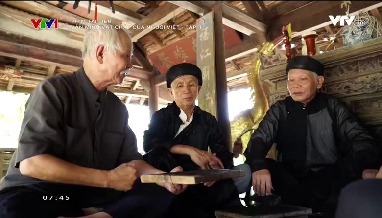 Phim tài liệu: Văn minh vật chất của người Việt - Tập 3