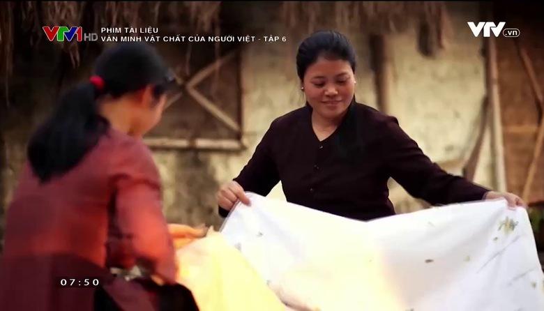 Phim tài liệu: Văn minh vật chất của người Việt - Tập 6