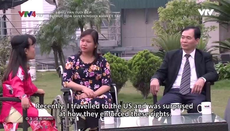 Cuộc sống vẫn tươi đẹp: Hiện thực hóa quyền người khuyết tật