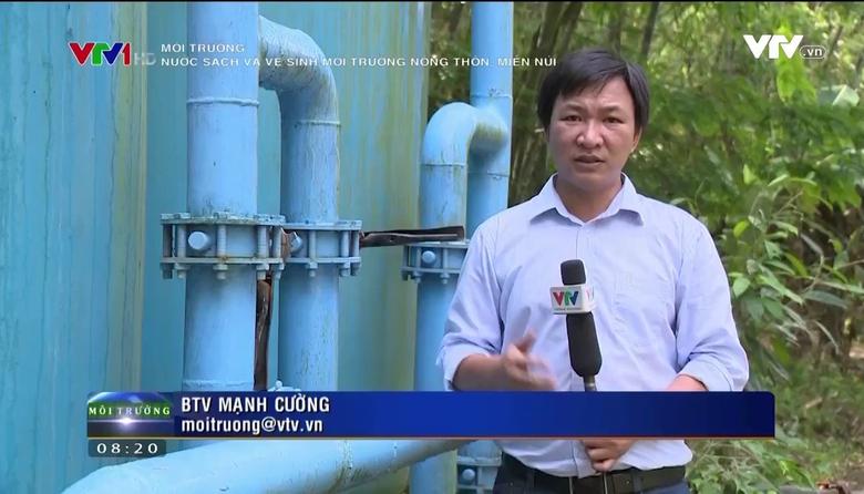 Môi trường: Nước sạch và vệ sinh môi trường nông thôn, miền núi