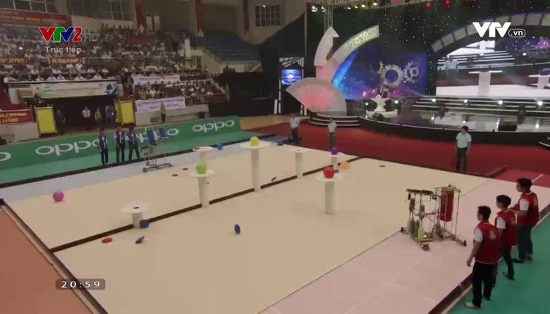 Chung kết Robocon 2017: Thi đấu vòng 1/8 và trao giải - Phần 2