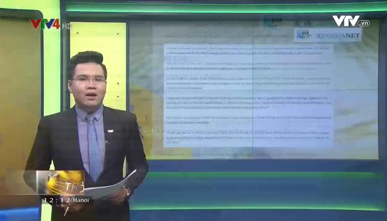 Bản tin tiếng Việt 12h - 23/5/2017