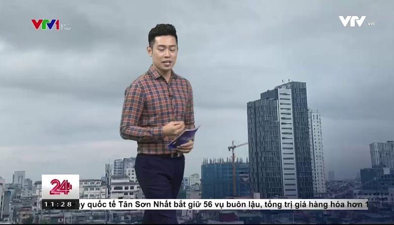 Bản tin thời tiết 11h30 - 27/6/2017