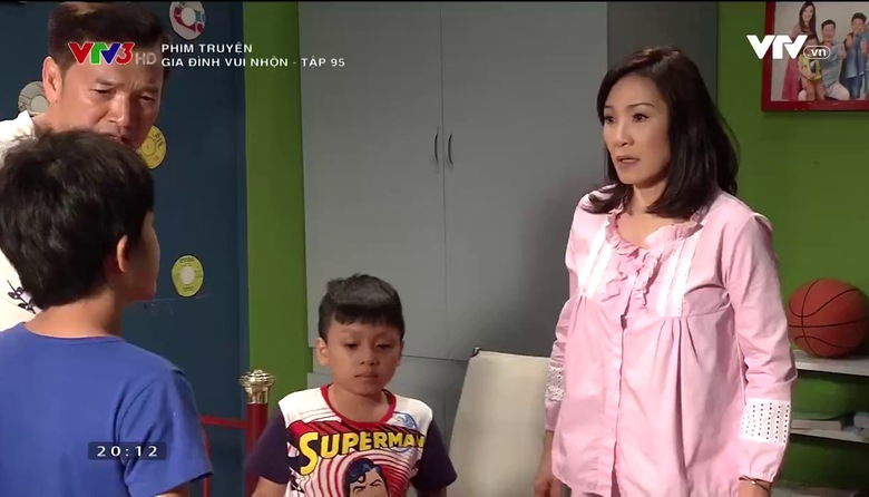 Phim truyện: Gia đình vui nhộn - Tập 95