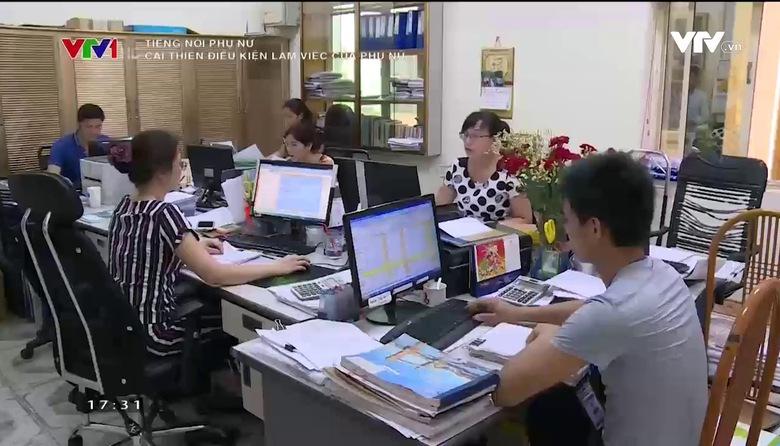 Tiếng nói phụ nữ: Cải thiện điều kiện cho lao động nữ - Góp phần thực hiện bình đẳng giới