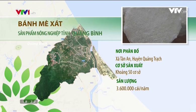 Nông nghiệp sạch: Bánh Mè Xát sản phẩm nông nghiệp tỉnh Quảng Bình