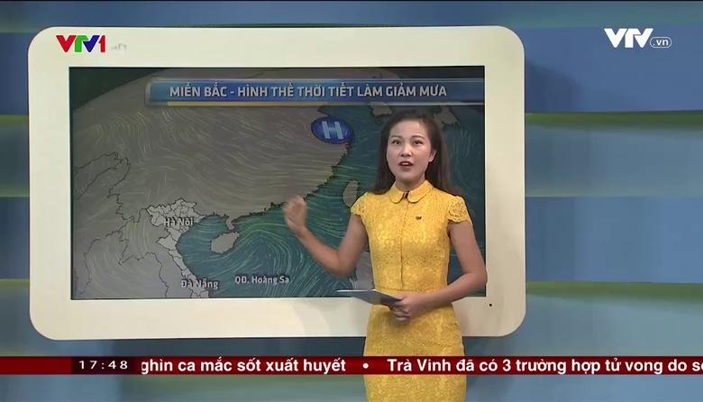 Bản tin thời tiết 18h - 21/7/2017
