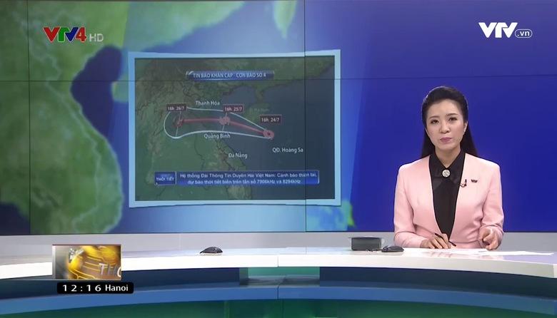 Bản tin tiếng Việt 12h VTV4 - 25/7/2017
