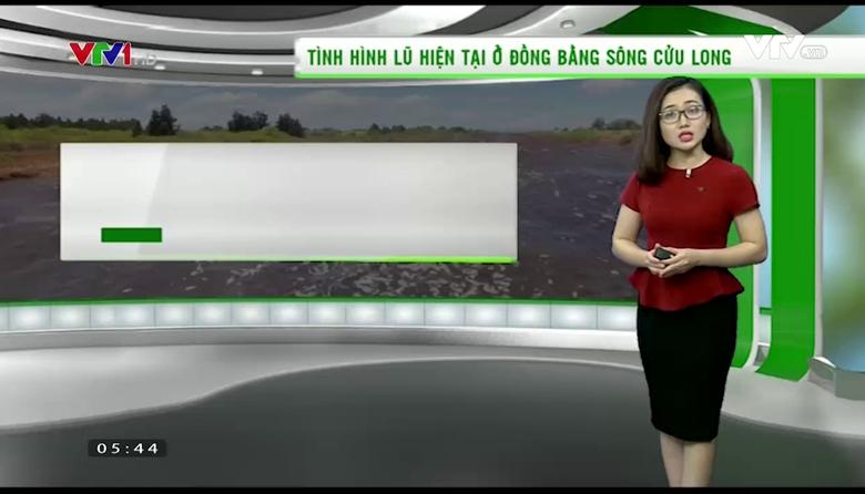 Bản tin thời tiết nông vụ - 28/7/2017