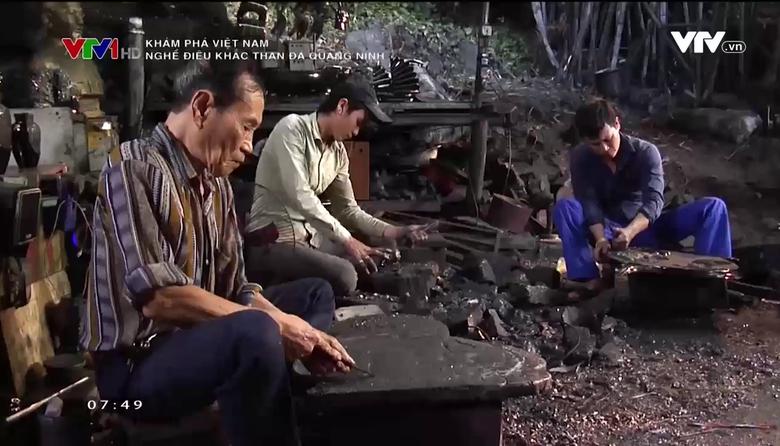 Khám phá Việt Nam: Nghề điêu khắc than đá Quảng Ninh