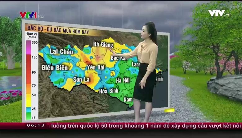 Bản tin thời tiết 6h10 - 16/8/2017
