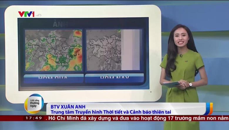 Bản tin thời tiết 18h - 18/8/2017