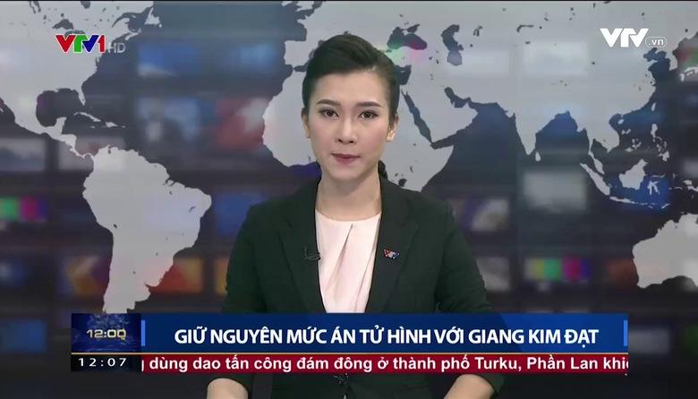 Thời sự 12h VTV1 - 19/8/2017