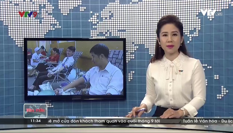 Tin tức 11h30 VTV9 - 19/8/2017