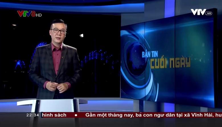 Bản tin 22h30 VTV8 - 21/8/2017