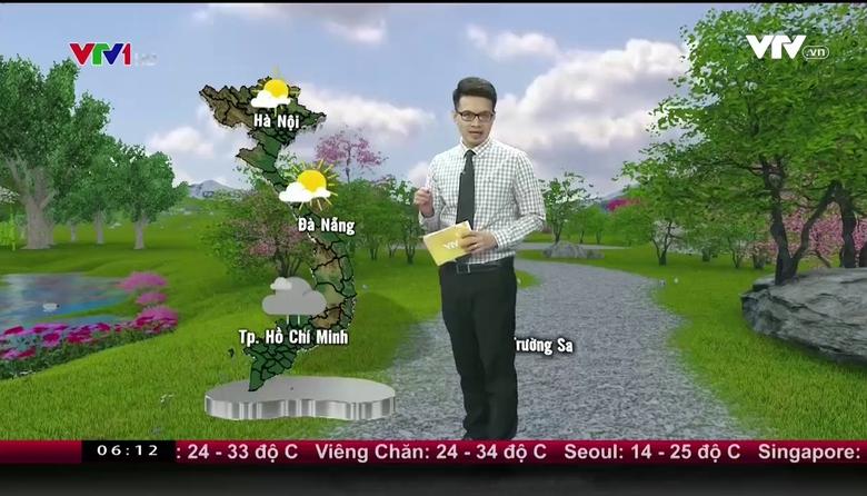 Bản tin thời tiết 6h10 - 19/9/2017