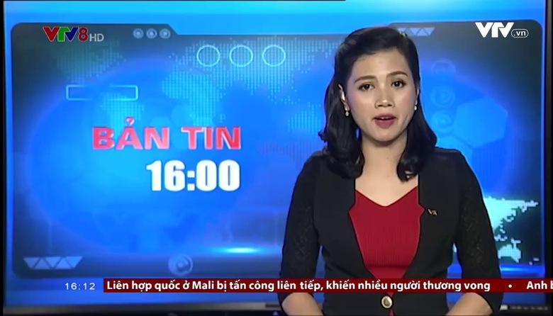 Bản tin 16h VTV8 - 21/9/2017