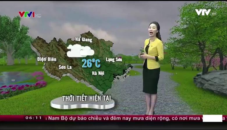 Bản tin thời tiết 6h10 - 24/9/2017