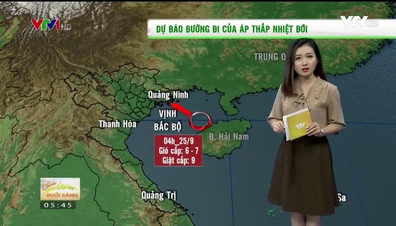 Bản tin thời tiết nông vụ - 25/9/2017