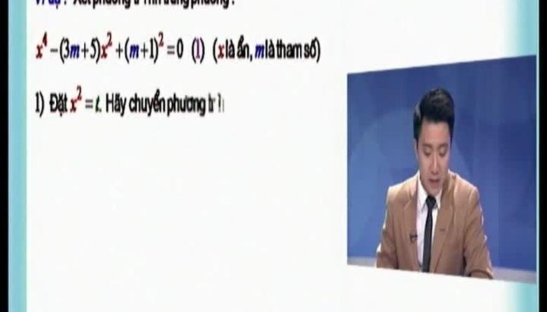 BTKTVH: Toán lớp 9 - Bài 18: Phương trình trùng phương